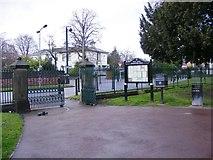 SO9098 : Summerfield Road Gate by Gordon Griffiths