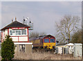 SK8611 : Freight train passing Langham Junction - 5 by Alan Murray-Rust