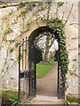 SP5206 : Oxford Botanic Garden: archway by Stephen Craven
