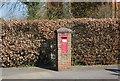 TQ8344 : Victorian Postbox, Wheeler St by N Chadwick