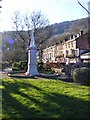 SK2958 : Matlock Bath Cenotaph by Gordon Griffiths