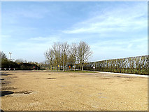 TL2668 : Car Park at Wood Green Animal Shelter by Adrian Cable