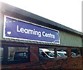 TL2668 : Learning Centre sign at Wood Green Animal Shelter by Adrian Cable