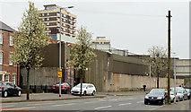 J3375 : Former North Queen Street police station, Belfast - April 2014(1) by Albert Bridge