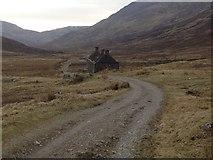 NN1364 : West Highland Way at Tigh-na-Sleubhaich by Steven Brown