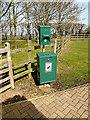 TL2668 : Fido Bin & Bag Dispenser at Wood Green Animal Shelter by Geographer