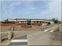 TL2668 : Refectory at Wood Green Animal Shelter by Adrian Cable