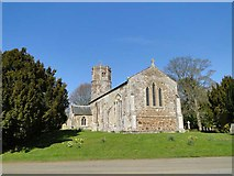 TF6303 : Bexwell St Mary's church by Adrian S Pye