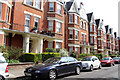TQ2784 : Antrim Mansions, Belsize Park by Kate Jewell