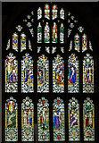 TQ9220 : East window, St Mary the Virgin church, Rye by Julian P Guffogg