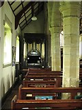NY9371 : St. Giles Church, Chollerton - north aisle by Mike Quinn