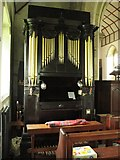 NY9371 : St. Giles Church, Chollerton - organ by Mike Quinn