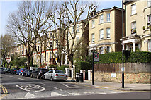 TQ2784 : Fellows Road, London NW3 by Kate Jewell