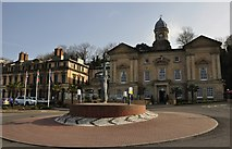 ST1872 : Penarth : Roundabout & The Custom House by Lewis Clarke