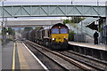 SO9233 : Freight Train at Ashchurch Station by Stuart Wilding