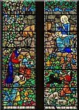 TQ9220 : Detail, West window, St Mary's church, Rye by Julian P Guffogg