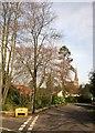 ST5575 : Junction, Sneyd Park by Derek Harper