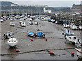 TA0588 : Tide out, East Harbour by Pauline E