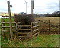 ST4590 : Stile to a public footpath, Five Lanes, Monmouthshire by Jaggery