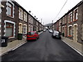 ST0598 : Towards the dead end of Consort Street, Miskin by Jaggery