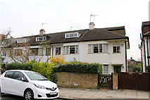 TQ2785 : Art Deco style housing on Upper Park Road, Belsize Park by Kate Jewell
