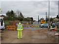 SK5636 : Wilford Lane road crossing by Alan Murray-Rust