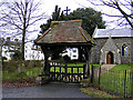 TM2654 : St.Mary's Church Lych Gate by Adrian Cable