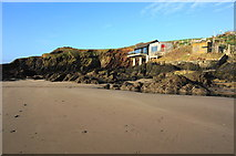 SX6443 : Private accommodation, Burgh Island by jeff collins