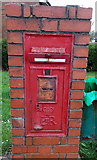 ST2896 : Sealed-up former postbox in West Pontnewydd Cwmbran by Jaggery