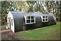 NJ6954 : Nissen Hut by Anne Burgess