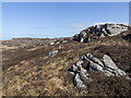 NM2258 : Moorland and bog north of Arinagour by William Starkey