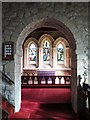 NY8777 : St. Giles Church, Birtley - Norman chancel arch by Mike Quinn