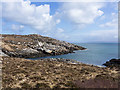 NM2558 : Eastern coast of Coll by William Starkey