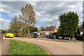 SP2754 : Building work on Farrington Close by David P Howard