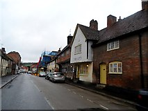 SU8294 : High Street West Wycombe by Bikeboy