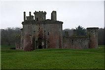 NY0265 : Caerlaverock Castle by Mike Pennington