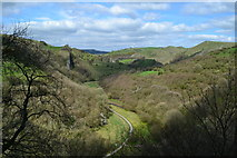 SK0955 : Manifold Valley from the entrance to Thor's Cave by David Martin