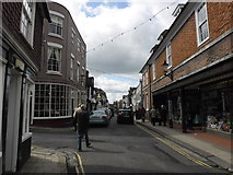 TQ9220 : High Street, Rye: early April 2014 by Basher Eyre