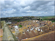 TQ9220 : St Mary Rye: view from the rooftop (ii) by Basher Eyre
