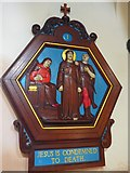 TQ9220 : St Anthony of Padua in Rye: Stations of the Cross (1) by Basher Eyre