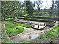 NZ1530 : Old water feature at Witton Castle by Oliver Dixon