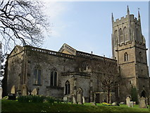 ST6834 : The Church of St Mary the Virgin at Bruton by Peter Wood