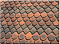 TQ4210 : Hung tiles, Lewes by Julian P Guffogg