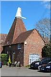 TQ4735 : Oast House, High Street, Hartfield by Oast House Archive