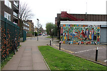 TQ2785 : Apartment blocks on Upper Park Road, Belsize Park, NW3 by Kate Jewell