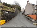 SO2104 : Steps alongside Heol Gerrig, Abertillery  by Jaggery