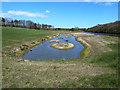 NZ3355 : Saline Lagoon, Washington Wetlands Centre by Oliver Dixon
