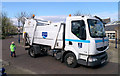 J5082 : Refuse collection lorry, Bangor by Rossographer