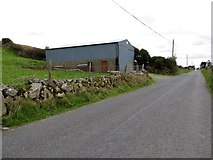 J0324 : Farm building on intake land above Keggall Road by Eric Jones