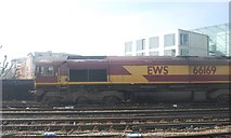 TQ3379 : EWS Train outside London Bridge Station by N Chadwick